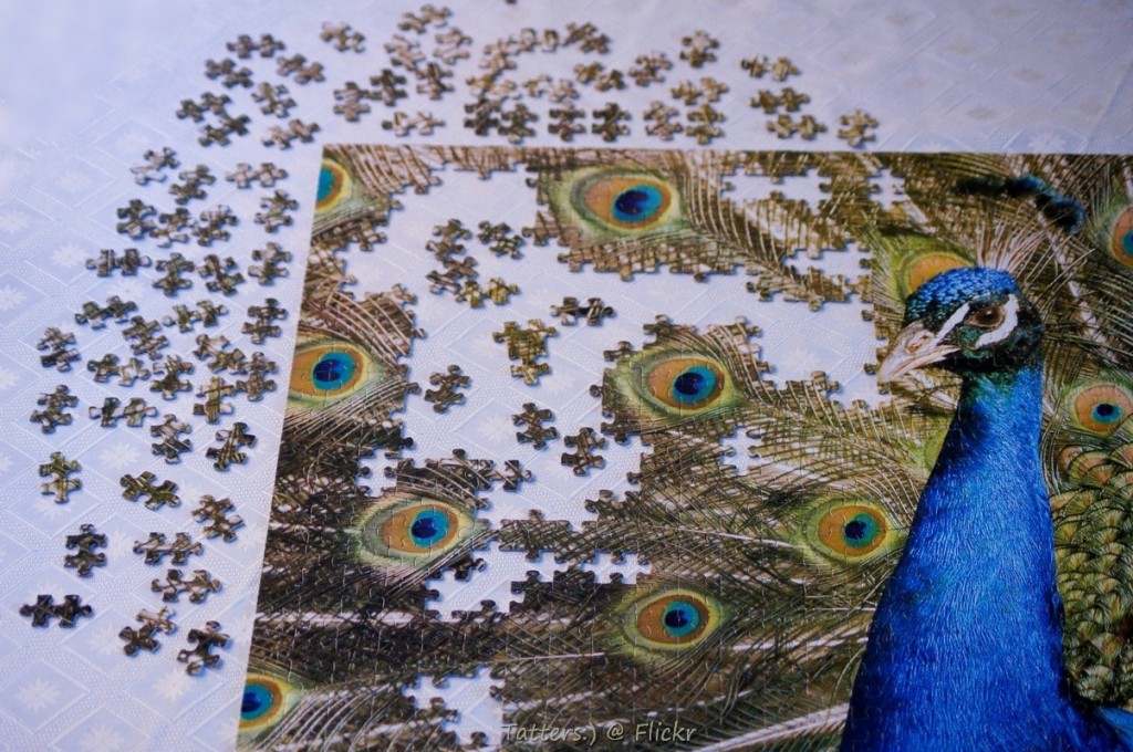 Nearly complete puzzle