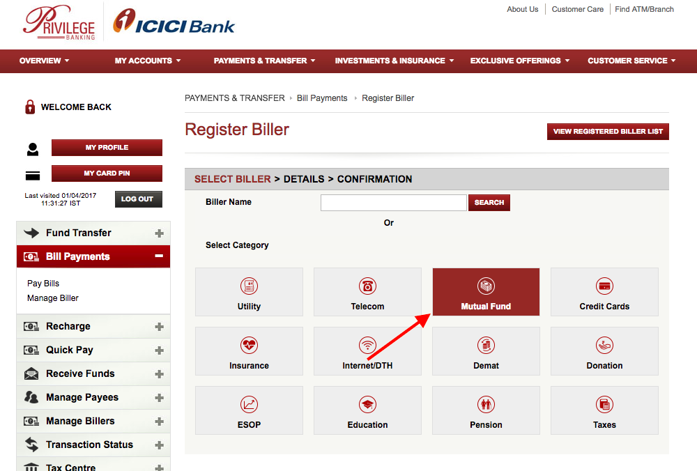 ICICI Paperless SIP