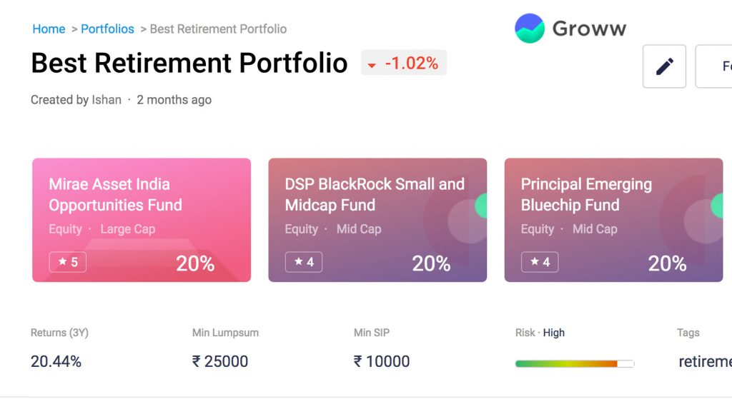 retirement-portfolio-groww