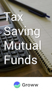 tax saving mutual funds coverpage