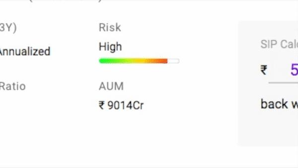 mutual fund risk level
