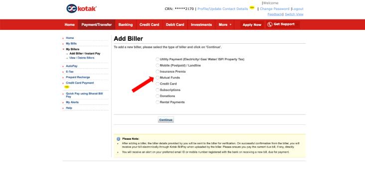 How to Add a Biller to Start an SIP Online - Groww