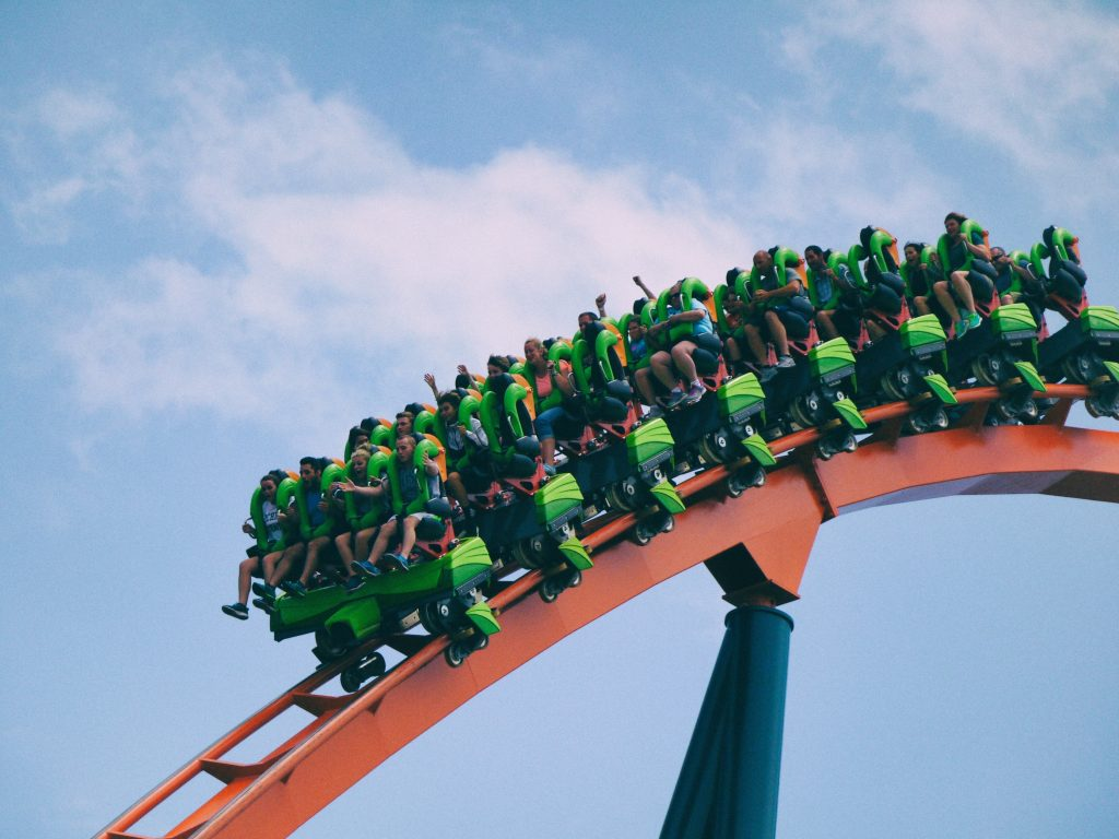 roller coaster ride crypto
