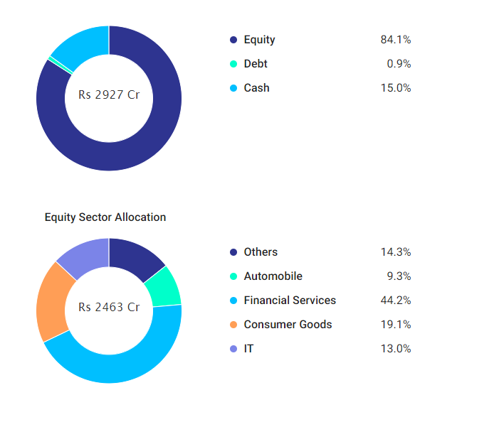 Axis Blue Chip Fund Holdings