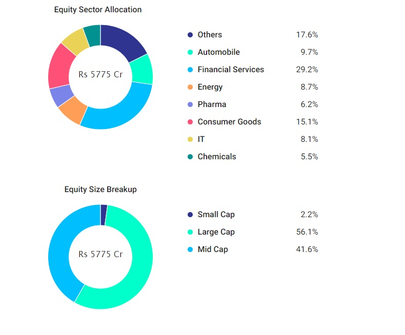 Mirae Asset Emerging Bluechip Fund Holdings