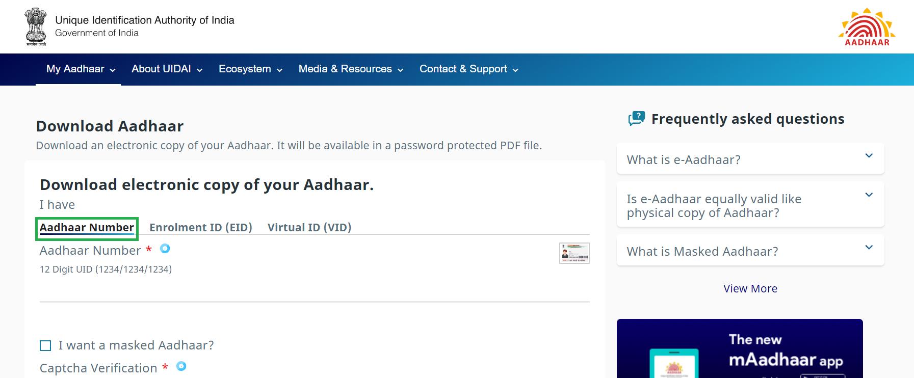 4 Ways to Download Your Aadhar Card (Online) - Groww