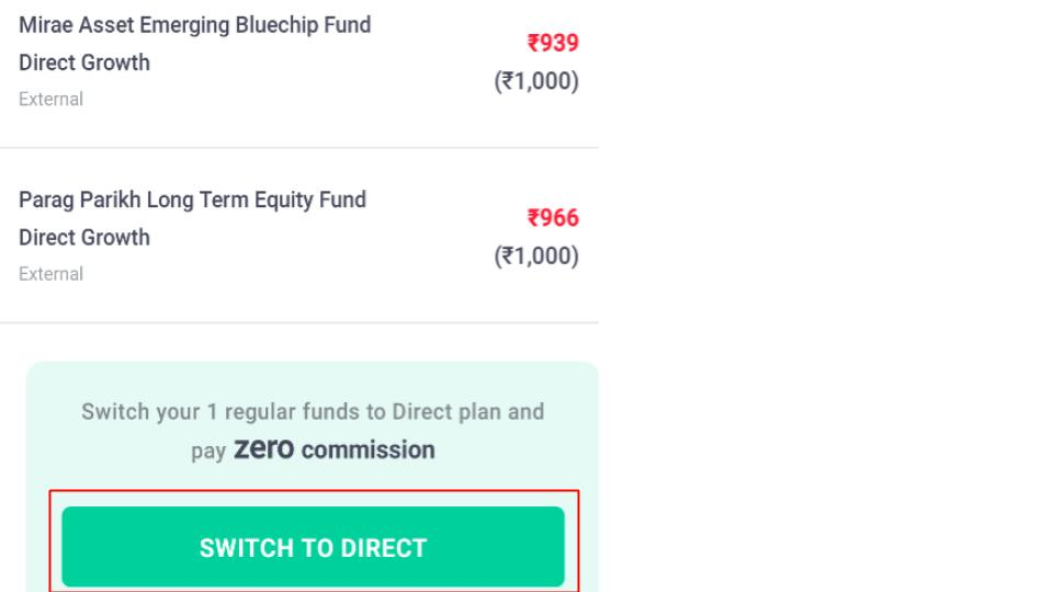 Switching to direct mutual funds