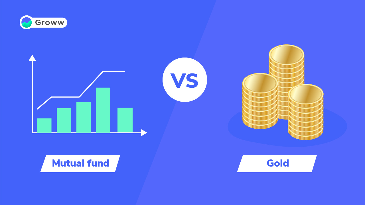 gold vs mutual funds