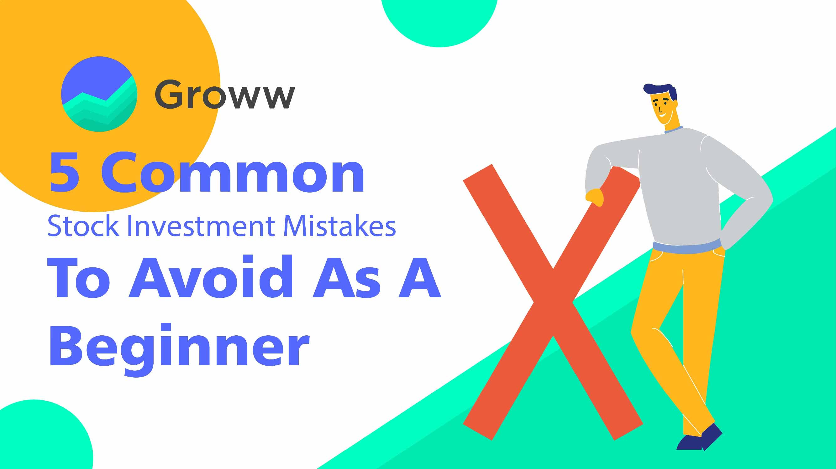 Stock investing mistakes to avoid