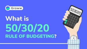 50-30-20 rule of budgeting