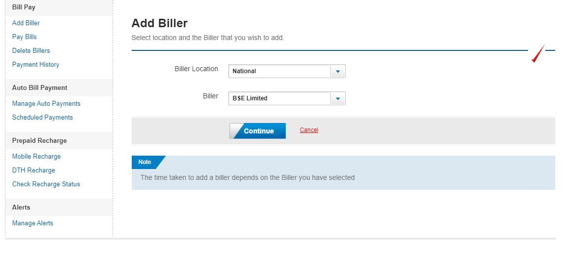 Step 4 Adding Biller-2