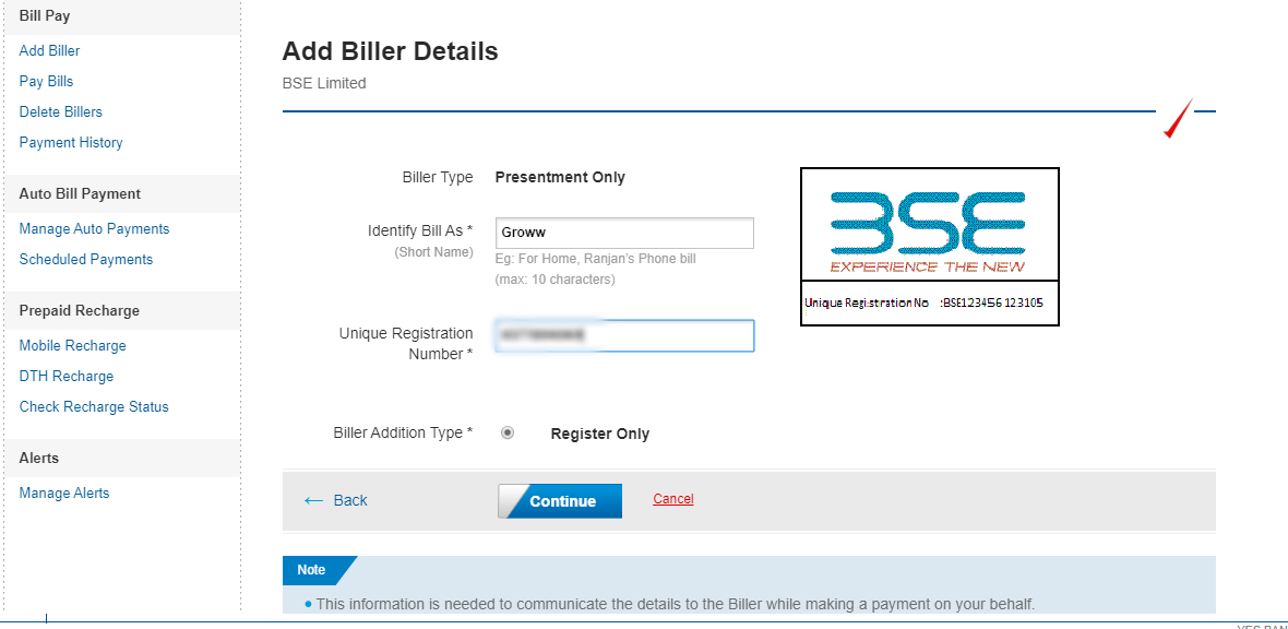 Step 5 Add Biller Details-1