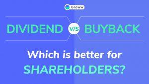 dividend vs buyback