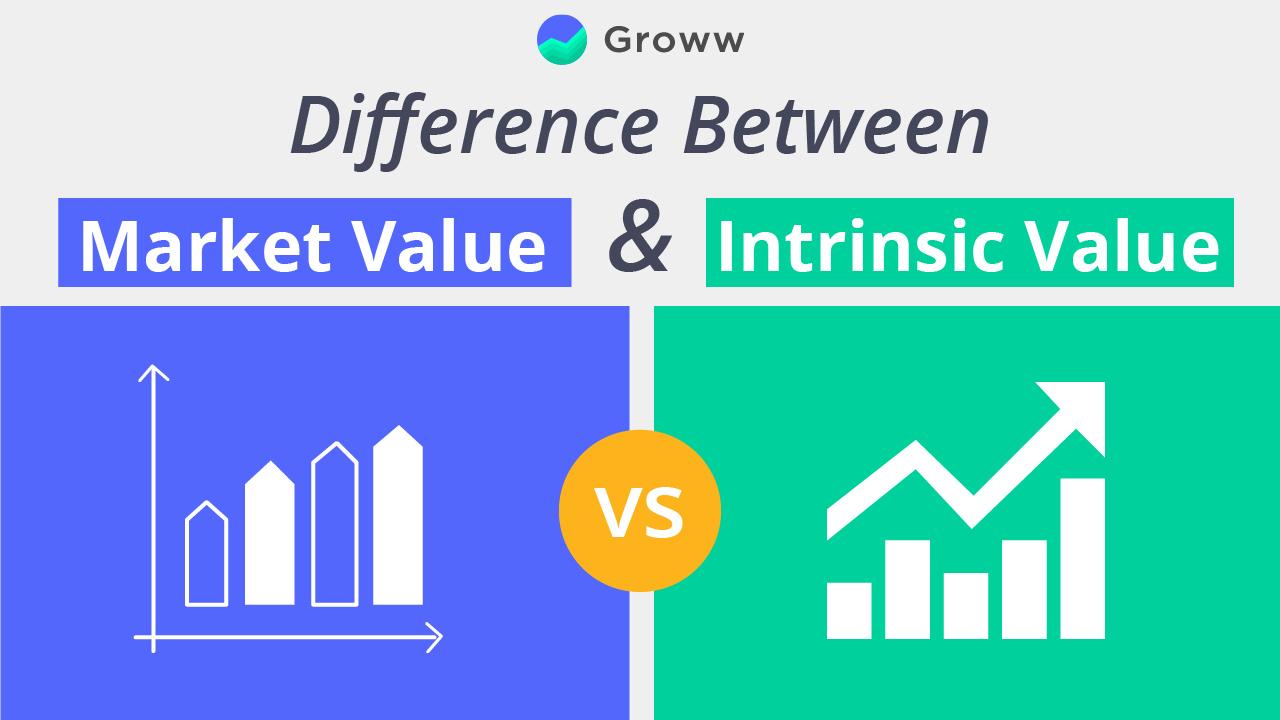 market value vs intrinsic value of stocks
