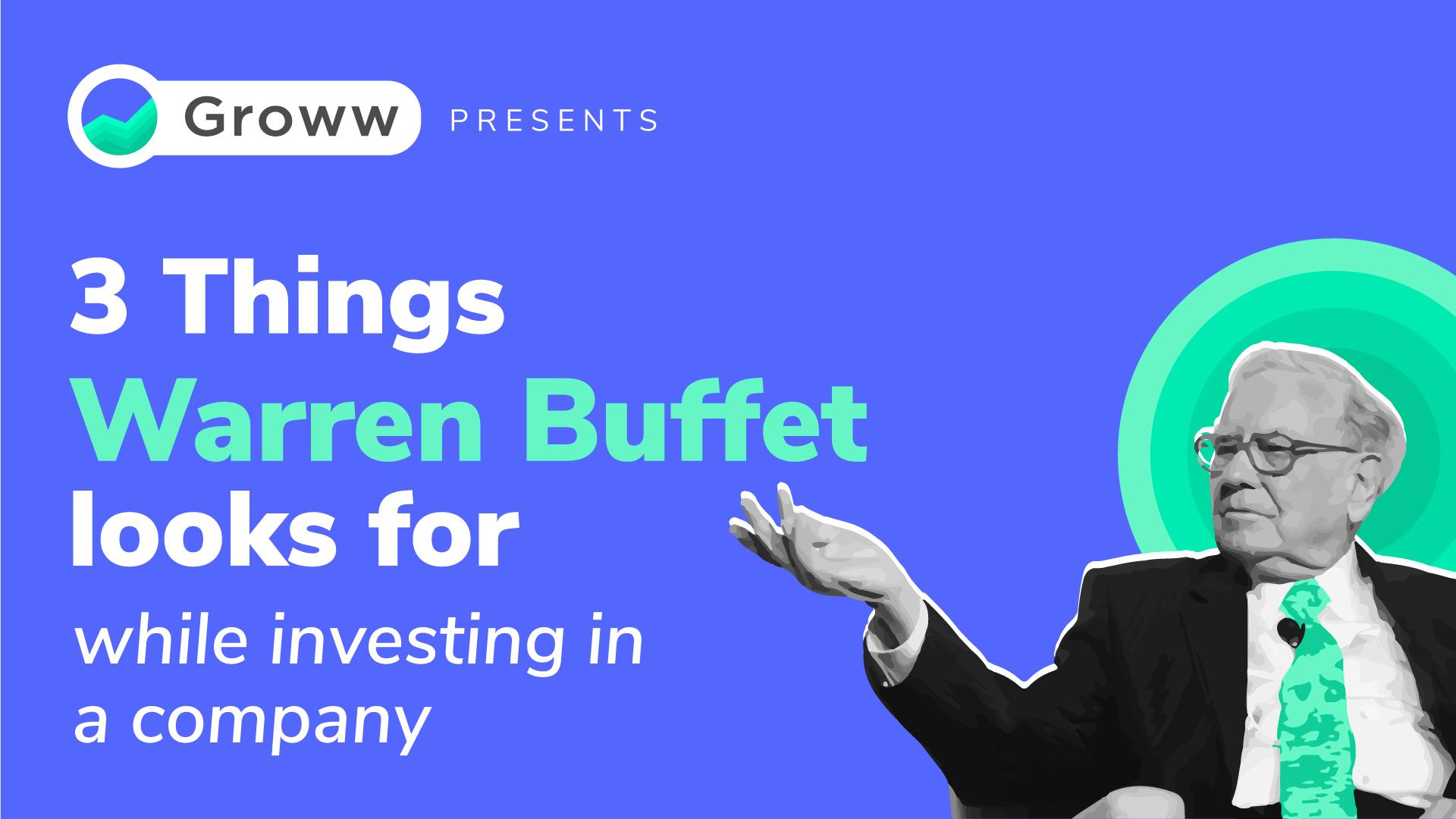 warren Buffet Investing