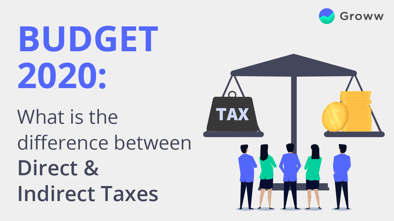 indirect direct taxes