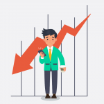 market falls what should investors do