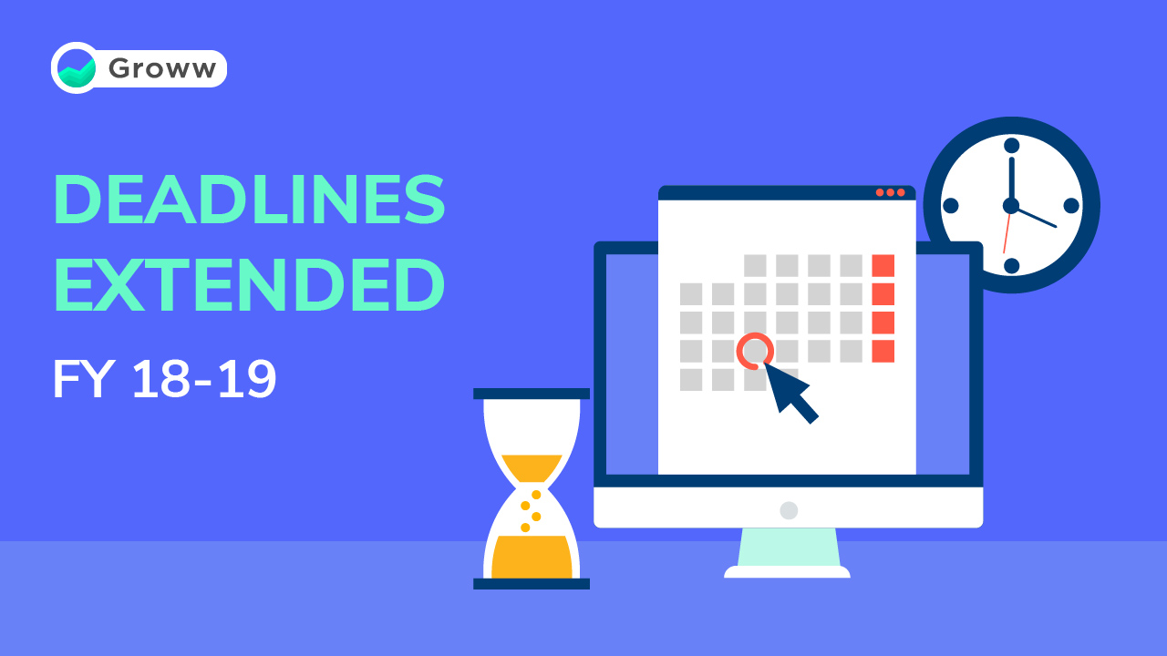 Tax deadlines extended