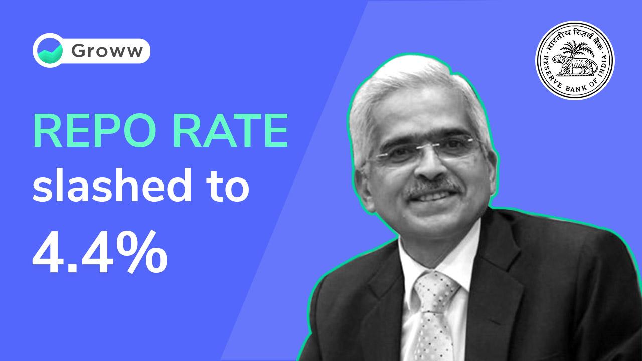 RBI slashes repo rate