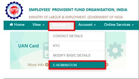 EPF Form 2 - e Nomination