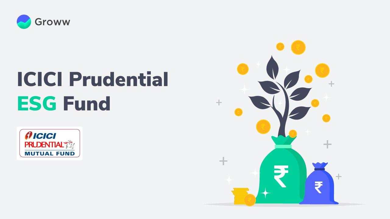 ICICI Prudential ESG Fund NFO