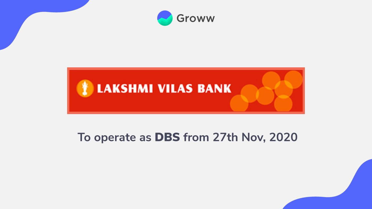 Lakshmi Vilas Bank Merger Latest News