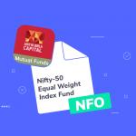 Aditya Birla Sun Life MF launches Nifty-50 Equal Weight Index Fund NFO